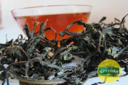 Черный листовой Иван-чай ручной работы